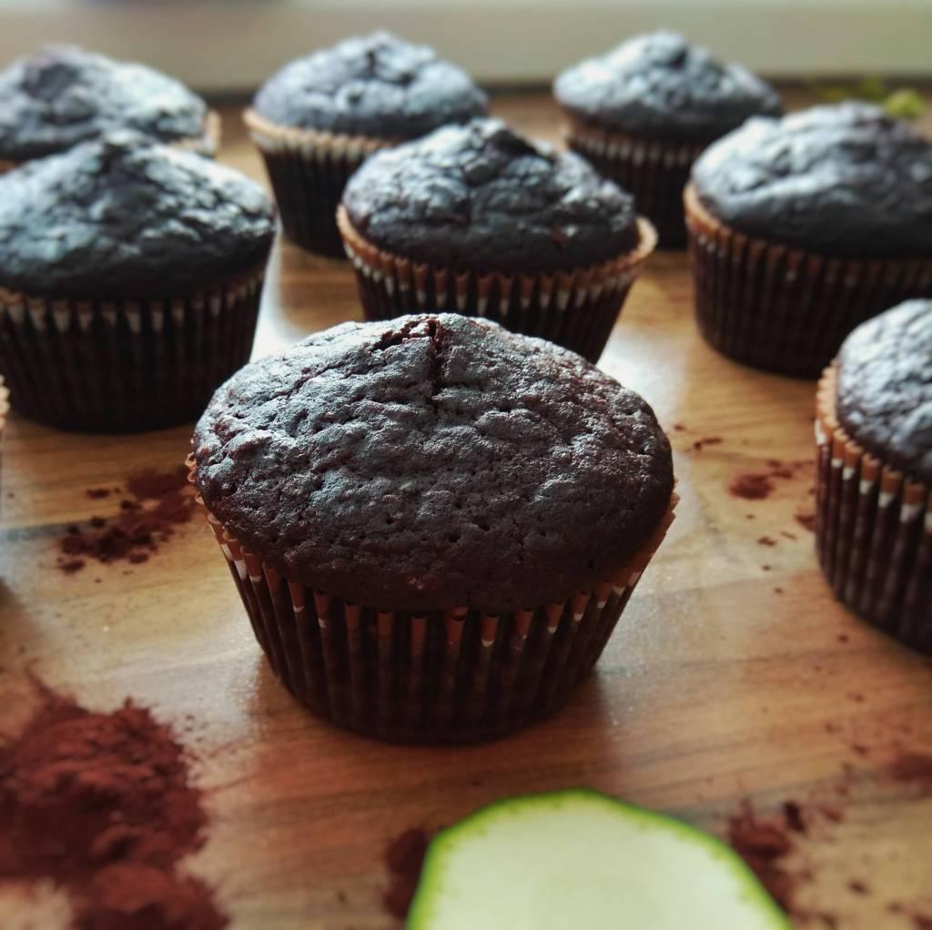 gluten free courgette muffins